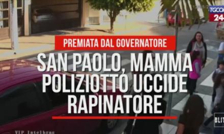 MAMMA UCCIDE UN RAPINATORE ALL'USCITA DA SCUOLA