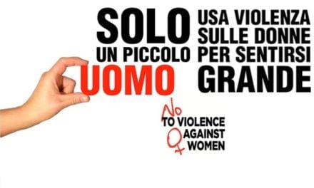 IL 25 NOVEMBRE E' LA GIORNATA CONTRO LA VIOLENZA SULLE DONNE
