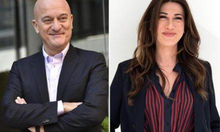 VIRIGINIA RAFFAELE E CLAUDIO BISIO I NUOVI CONDUTTORI DI SANREMO 2019