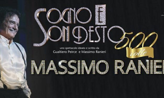 MASSIMO RANIERI – 14 APRILE – TEATRO METROPOLITAN – CATANIA