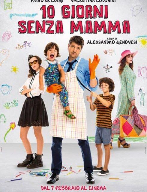 """BOX OFFICE: IN VETTA IL FILM """"10 GIORNI CON SENZA MAMMA"""""""