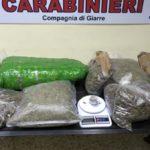 GIARRE: ARRESTATI UN VIGILE URBANO E UN AMBULAZIERE PER DROGA