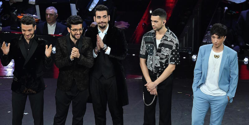 SANREMO 2019, LA CLASSIFICA FINALE