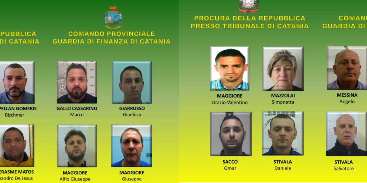 CATANIA: DROGA DA SPAGNA E SUD AMERICA, 16 ARRESTI
