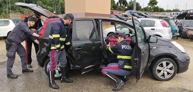 CONTROMANO SULL'AUTOSTRADA SIRACUSA – CATANIA: INSEGUITO E ARRESTATO DALLA POLIZIA STRADALE