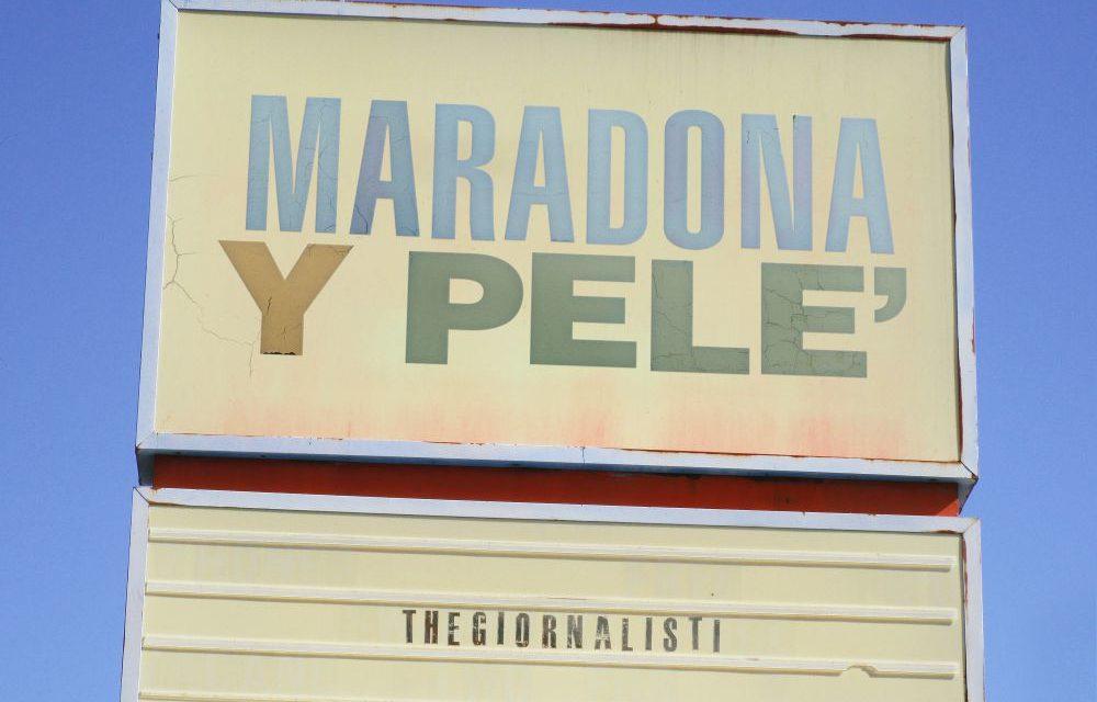 THEGIORNALISTI: VENERDI' ESCE IL NUOVO SINGOLO MARADONA Y PELE'