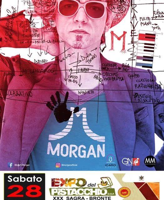 EXPO DEL PISTACCHIO DI BRONTE 2019 MORGAN & BAND IN CONCERTO