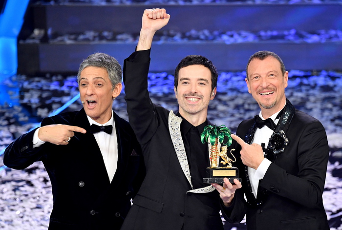 SANREMO: ASCOLTI DELL'ULTIMA SERATA E CLASSIFICA FINALE.