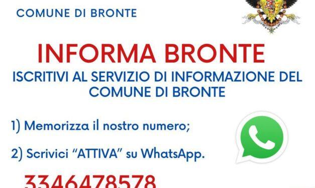 INFORMA BRONTE, L'INFORMAZIONE A PORTATA DI CLICK